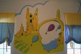 Oh, the Places You'll Go, Nursery  Mural